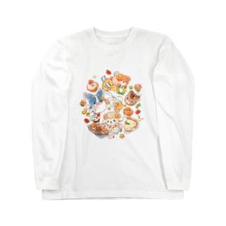 SOFTFLOWER~お菓子作り~ Long sleeve T-shirts