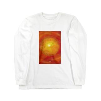 wamiの光のフトマニ Long sleeve T-shirts