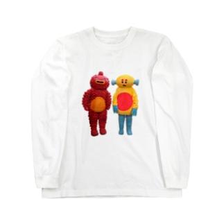 ちょぼぽげ Long sleeve T-shirts