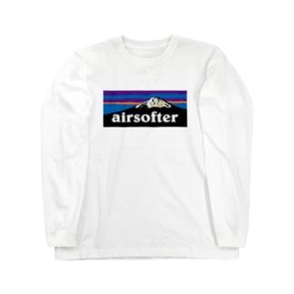 AIRSOFTER mountain Long sleeve T-shirts