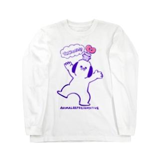 どうぶつマン&しょくぶつマン Long sleeve T-shirts