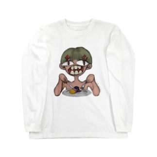 カニバリズムびっぐてぃーすさん Long sleeve T-shirts