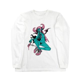 ロックT ROCK'N PUNK - 悪魔ちゃん スニーカー Long sleeve T-shirts