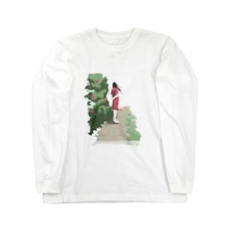 海風 Long sleeve T-shirts