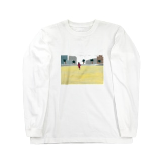 浜辺 Long sleeve T-shirts