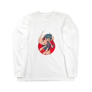ひのたま Long sleeve T-shirts