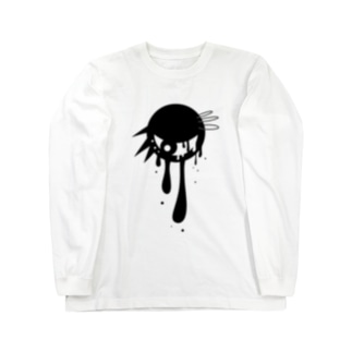 パンクな目玉 Long sleeve T-shirts