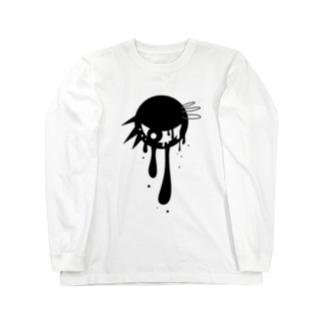 パンクな目玉 Long sleeve T-shirts
