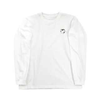 雪原のねこ Long sleeve T-shirts
