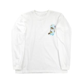 素麺むぅちゃん Long sleeve T-shirts