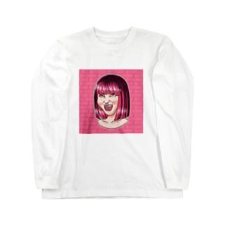 妻の爪楊枝 Long sleeve T-shirts