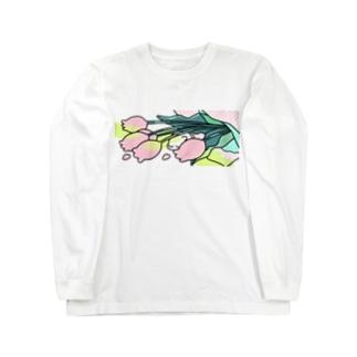 里 (sato)のbouquet H Long sleeve T-shirts