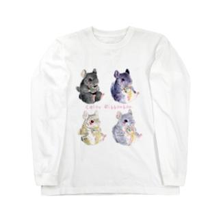 チンチラ Long sleeve T-shirts
