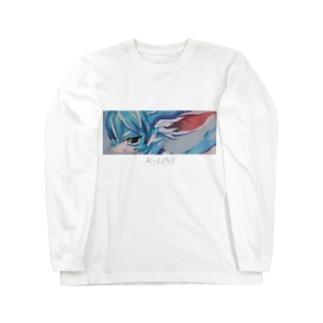 BLUE 001 Long sleeve T-shirts