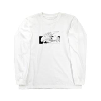 天使01(ヨコ) Long sleeve T-shirts