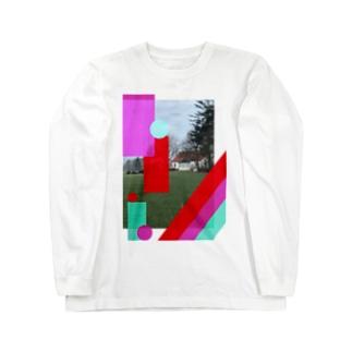 デンマークの家 Long sleeve T-shirts