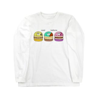 トゥンカロン/モンスター Long sleeve T-shirts