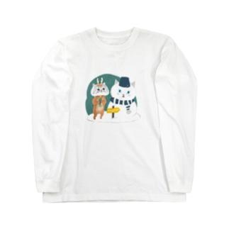 wokasinaiwoのトナカイなアポロン Long sleeve T-shirts