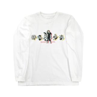 Dancing COWs Long sleeve T-shirts