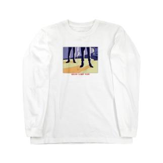 ねこぜもんのDEAD LINE 2AM Long sleeve T-shirts