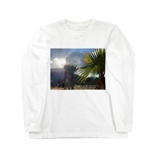 日暮れ Long sleeve T-shirts