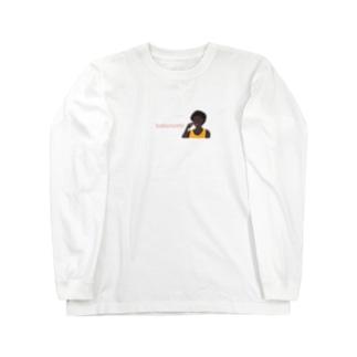 紅梅 bakunomi Long sleeve T-shirts
