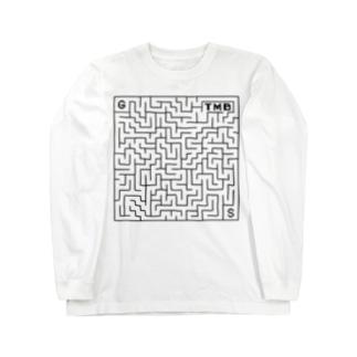 タイムマシン部迷路グッズ冬物 Long sleeve T-shirts