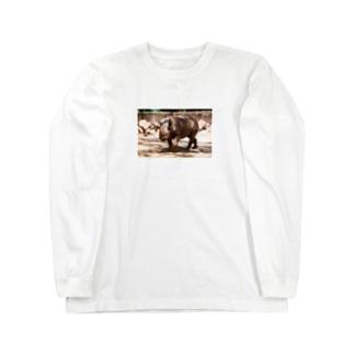 クロサイ Long sleeve T-shirts
