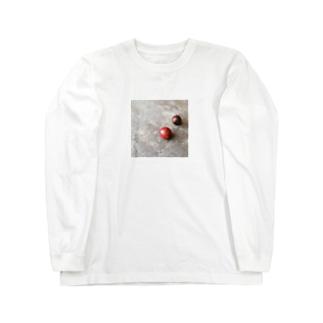 野球ボール Long sleeve T-shirts