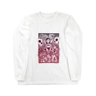 おしゃ霊合星人 Long sleeve T-shirts