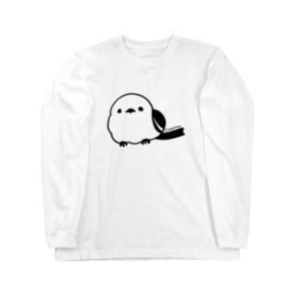 シマエナガ Long sleeve T-shirts