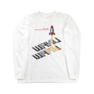 WAKUWAKU_booster!-003 Long sleeve T-shirts