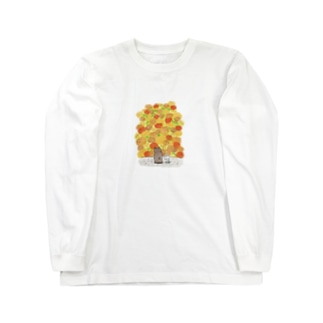 やまがきれいだね Long sleeve T-shirts