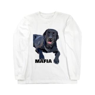 マフィア ラブラドール Long sleeve T-shirts
