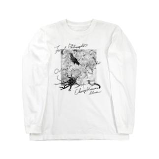 もけけ工房 SUZURI店の合格祈願盛り Long sleeve T-shirts