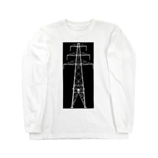 鉄塔No.20 Long sleeve T-shirts