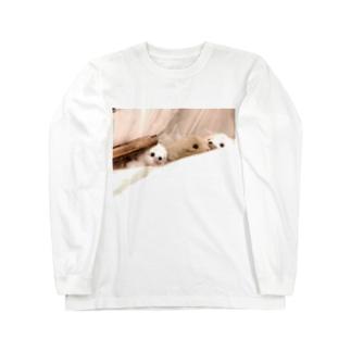 フォトスタンドクミン Long sleeve T-shirts