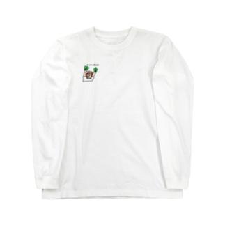 サンチュ生えた ロンT Long sleeve T-shirts