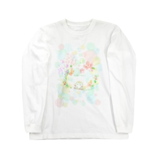 colorfulましまろう Long sleeve T-shirts