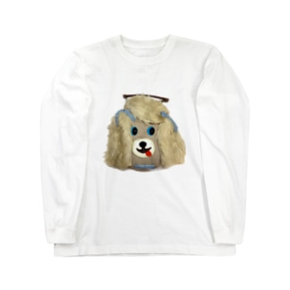 犬バッグ君 Long sleeve T-shirts