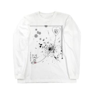猫 Long Sleeve T-Shirt