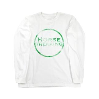 HORSE TREKKING Long sleeve T-shirts
