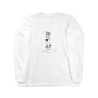 バニ女 Long sleeve T-shirts