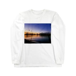 東京の夕方 Long sleeve T-shirts