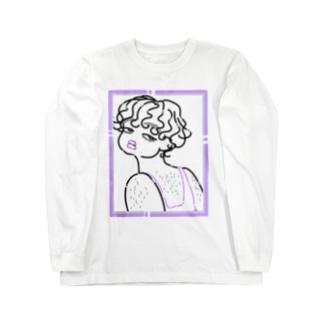 毛 Long sleeve T-shirts