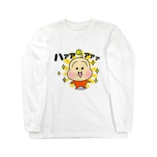 あかちゃんザムライ Long sleeve T-shirts