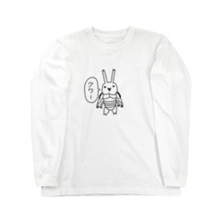 虹色クワガタさん Long sleeve T-shirts
