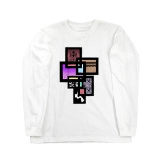 パネル Long sleeve T-shirts