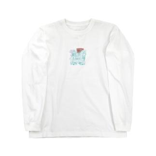 シクラメンガール Long sleeve T-shirts