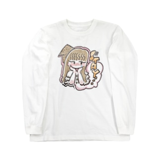 STAY HOME GIRL Long sleeve T-shirts